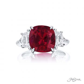 JB Star Natural Ruby & Diamond Ring