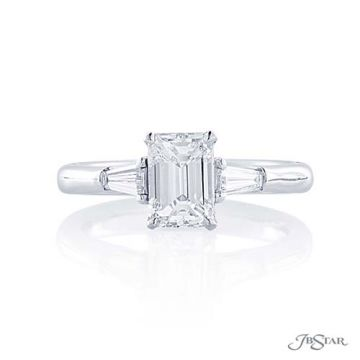 JB Star Platinum Diamond Engagement Ring - 4398-073