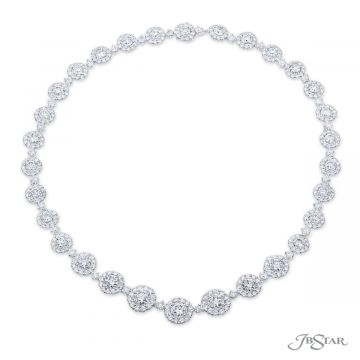 JB Star 29.66 ct GIA Certified Diamond Necklace