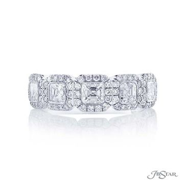 JB Star Platinum Diamond Wedding Band - 7137-020