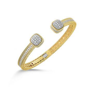 Roberto Coin 18k Yellow Gold Diamond Bracelet