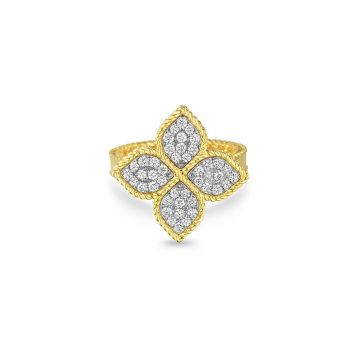 Roberto Coin 18k Yellow Gold Diamond Ring
