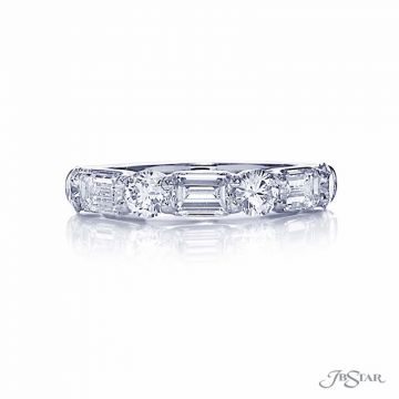 JB Star Platinum Anniversary Wedding Band - 5439-004