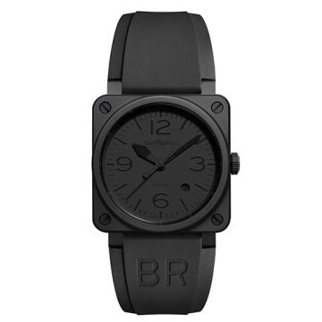 Bell and Ross BR03-92 Phantom Ceramic Black Stainless Steel Men's Watch
