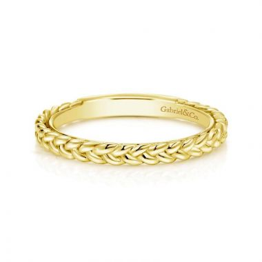 Gabriel & Co. 14k Yellow Gold Stackable Ring