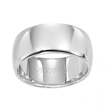 ArtCarved White Palladium Wedding  Band